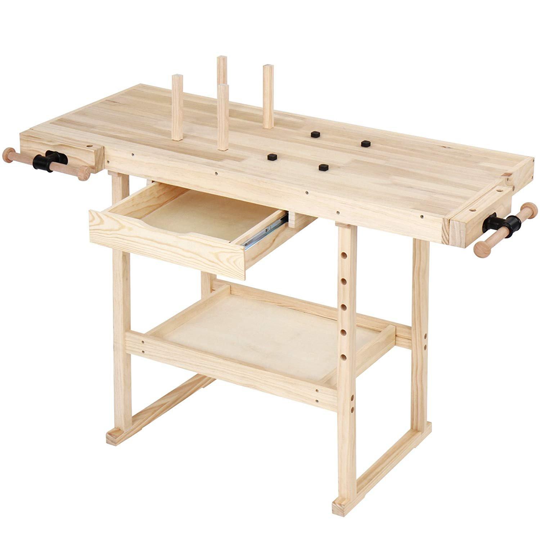 Jago Wood Approx. Workbench 117 x 47, 5 x 83 cm 5x 83cm Jago AG