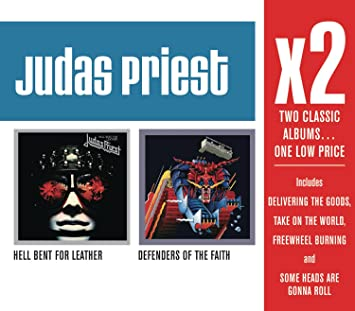 Judas Priest - X2 (Defenders Of The Faith/Hell Bent For Leather) - Amazon.com Music