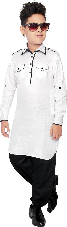 BEDI/'S BOYS Pathani Salwar Suit Kurta set Indian pakistani PS-272-WB