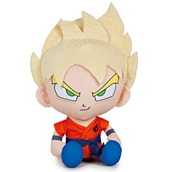 Play by Play OUSDY - Peluches Personajes Dragon Ball Super 760016801 28CM 4MODELOS (Goku Super