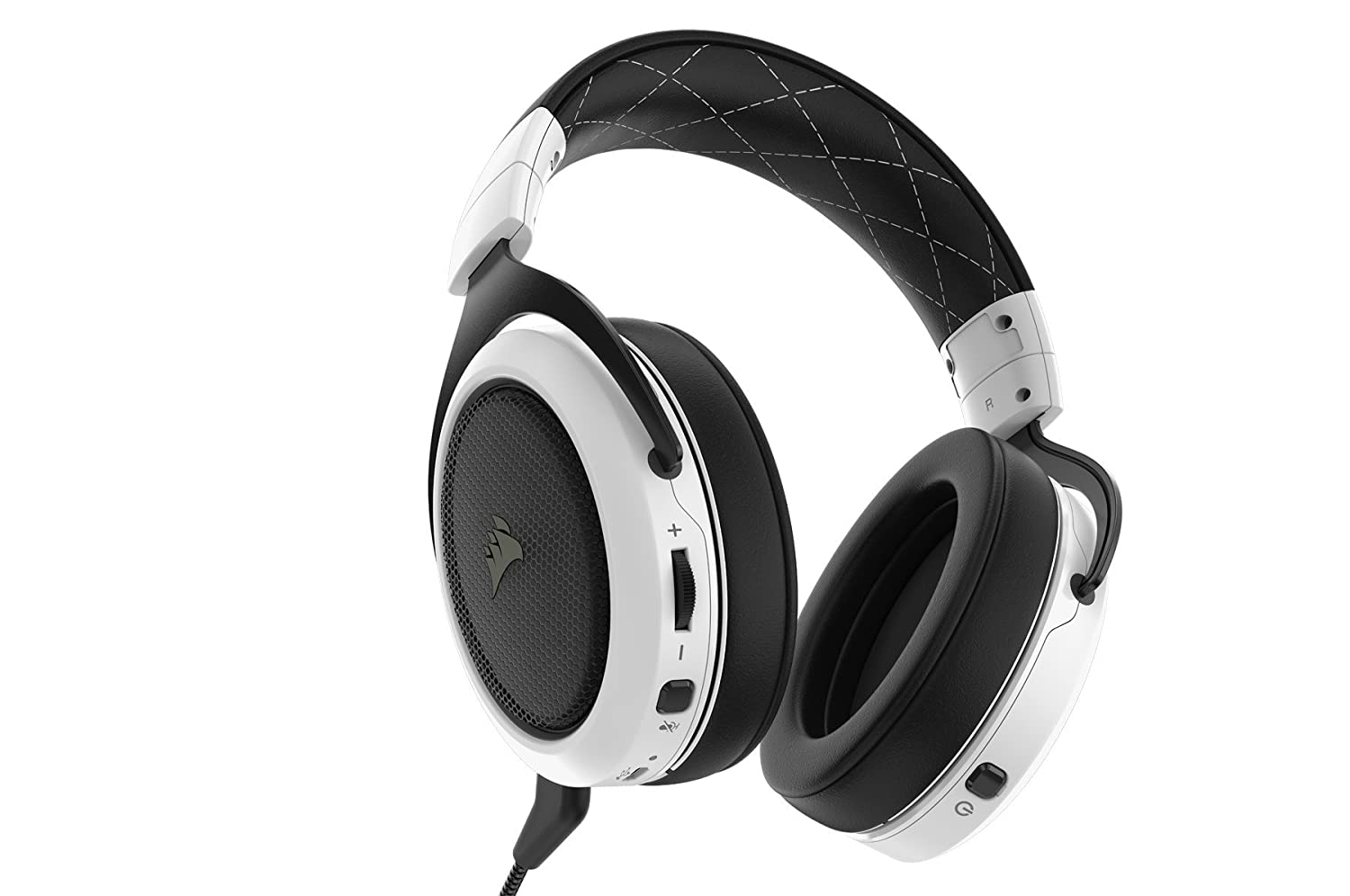 CORSAIR HS50 - Stereo Gaming Headset - Discord Certified Headphones – Green, and CORSAIR ST100 RGB - Premium RGB Gaming Headset Stand