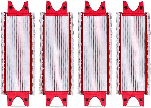 Replacement Microfibre Pad pour EasyWring Ultramax// 1-2 Spray KEEPOW Lot de 5 Serpill/ère de Microfibre pour Sols sans Rayures et Brillants