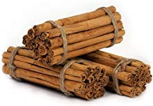Organic Ceylon Cinnamon Quills, Great in Coffee, 100% Natural, Make Delicious Asian Food, Tasty Cinnamon Tea, 4 inch Length, Prepare Whole, Crushed, or Ground, Savory Chicken (100g)