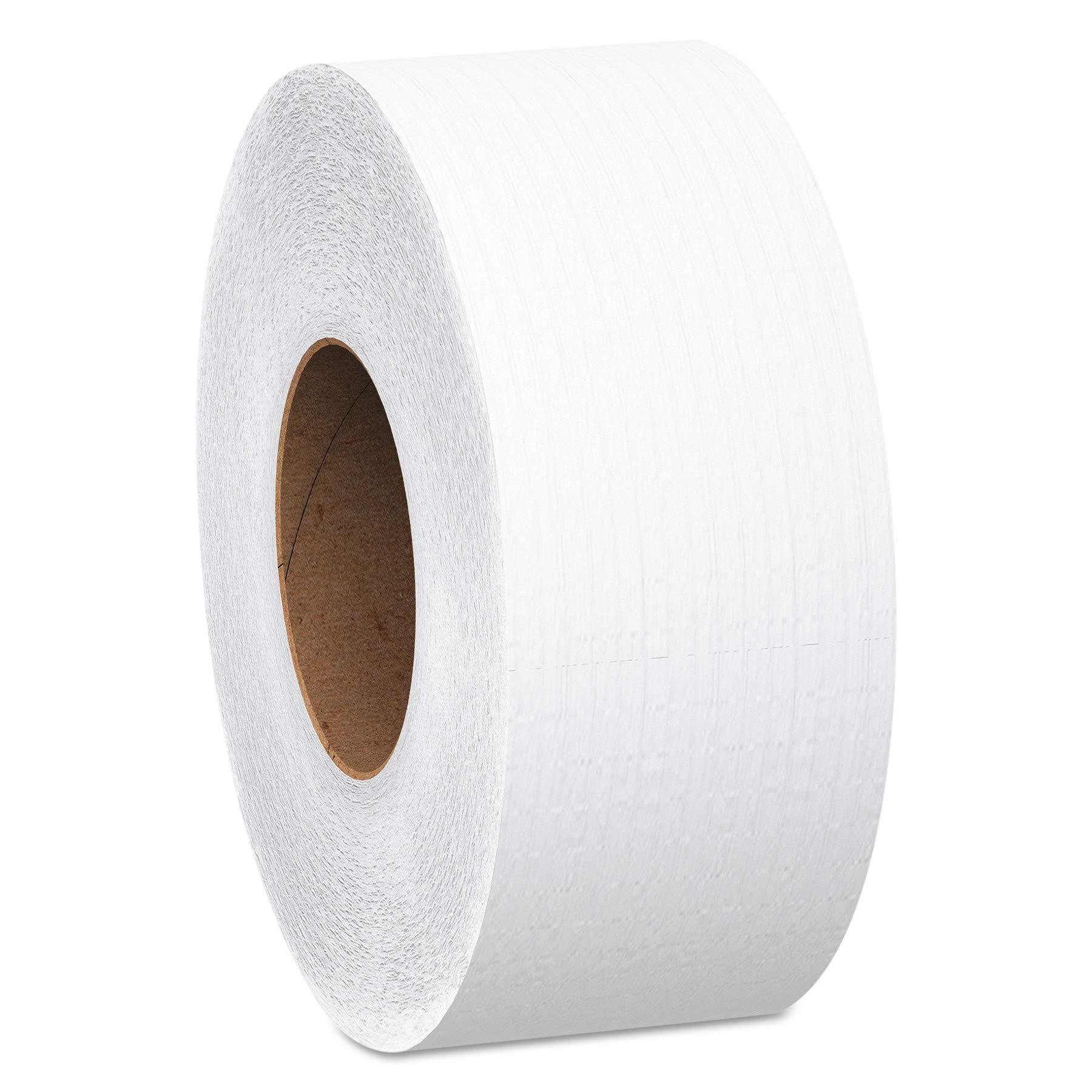 Scott UUBVZJLA Essential Jumbo Roll JR. Commercial Toilet Paper (07805), 2-PLY, White, 1000' / Roll, 2 Case of 12 Rolls by Scott (Image #2)