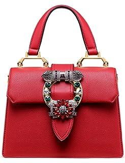585f9e1c376a LA FESTIN Ladies Cute Bags Dazzling Jewels Shoulder Chain Purse Leather