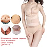 Hip Mall 3 in 1 Postpartum Belly Wrap Girdle