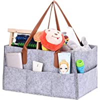 ورأى تخزين العلبة حفاضات الطفل العلبة المنظم سلة التخزين المحمولة بن كبير حقيبة الحضانة