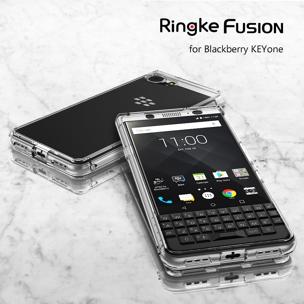 [Ori] Blackberry KEYone - Rearth Ringke Fusion Case