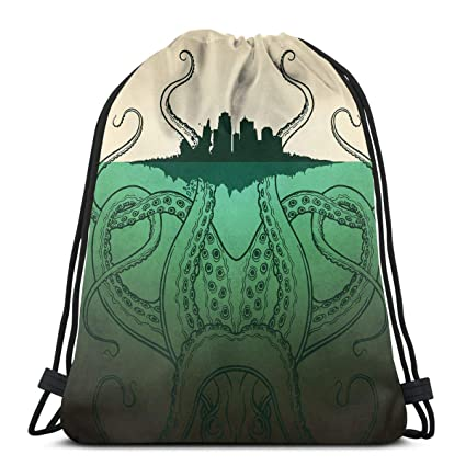 7f61fbe5de Amazon.com: Drawstring Backpack Bag,Cinch Sack,Gym Sack,for Girls Or ...