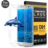 Galaxy S7 Edge Screen Protector,CBoner Galaxy S7 Edge Full Coverage HD Clear Tempered Glass Screen Protector for Samsung Galaxy S7 Edge,2 Pack