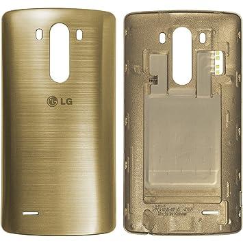 LG G3 D855 Tapa de Batería ACQ87482403, Cubierta de batería, Tapa antipolvo, Repuesto, Battery cover, Batterycover, Tapa trasera de bateria - Dorado