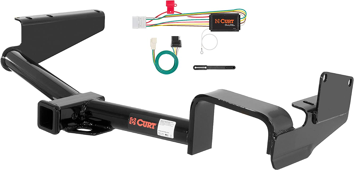 1-1//4-Inch Receiver Select Jeep Cherokee CURT 121373 Class 2 Trailer Hitch with Ball Mount