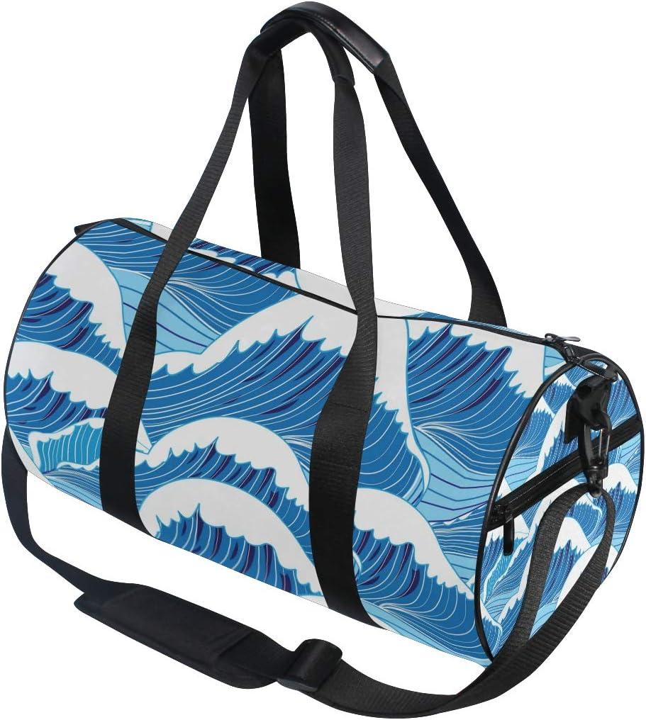 MALPLENA The Fairy Cloud Drum gym duffel bag women Travel Bag