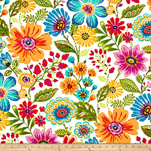 Floral Upholstery - Swavelle/Mill Creek 0511756 Indoor/Outdoor Gregoire Prima Fabric by The Yard,