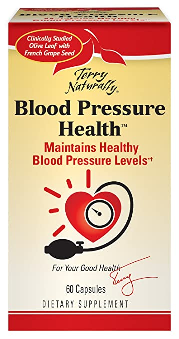 Amazon Terry Naturally Blood Pressure Health Maintains