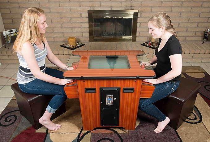 Arcade Factory Retro 80s moneda Op madera de cerezo cóctel juego ...