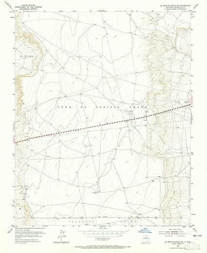 Amazon.com : YellowMaps La Mesita Negra SE NM topo map, 1 ...