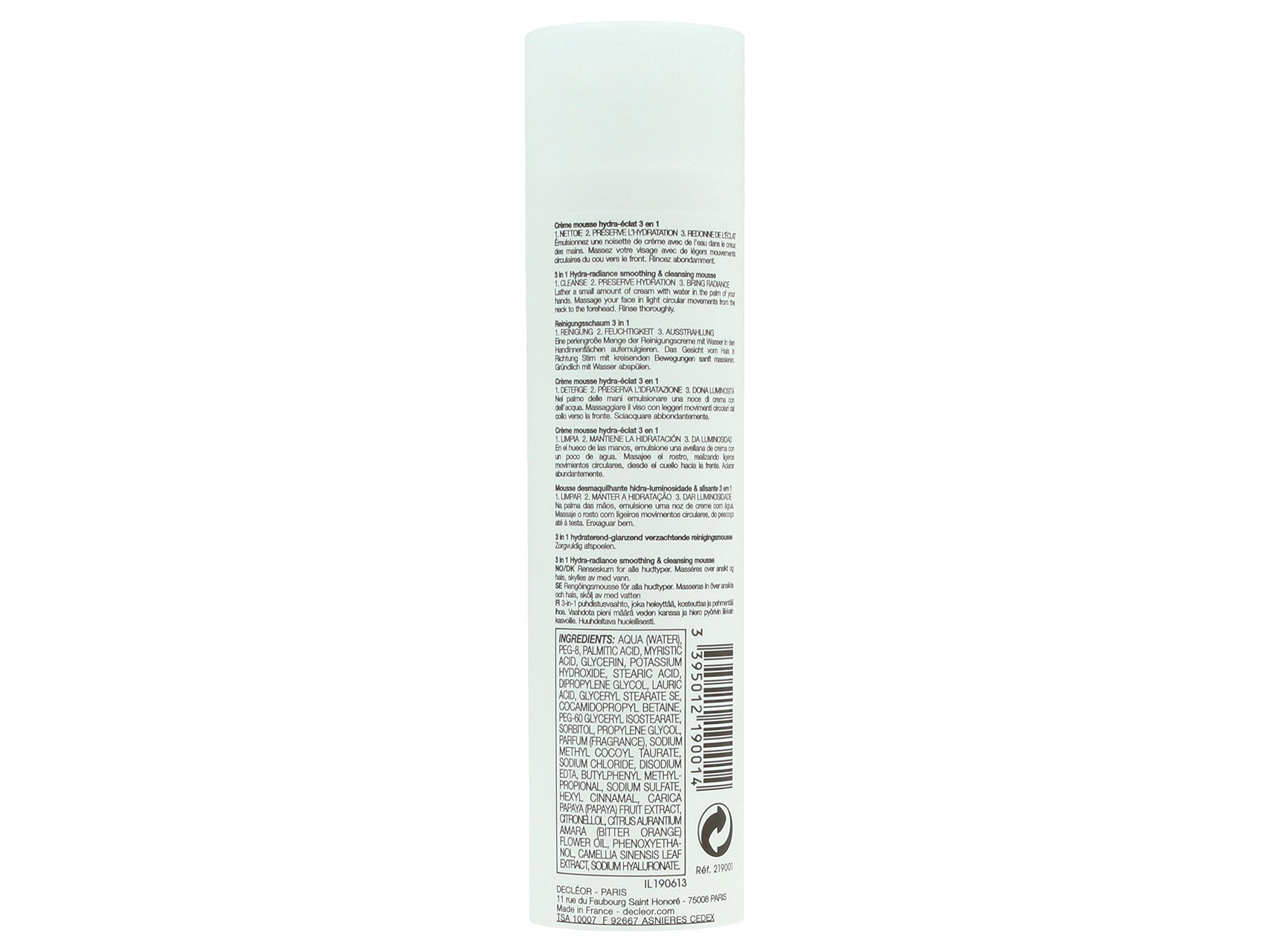 Decleor Aroma Cleanse 3 in 1 Hydra Radiance Smoothing and Cleansing Mouse, 3.3 Fluid Ounce by Decleor (Image #2)