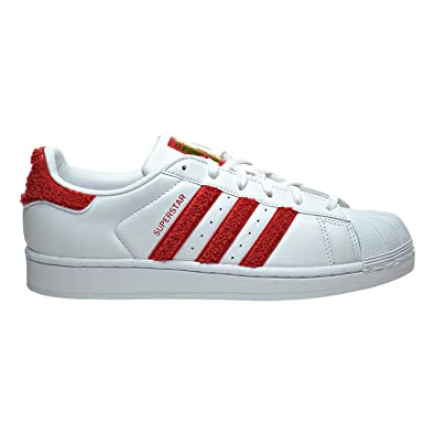 purchase cheap d9fba 7fc47 Amazon.com   adidas Superstar W Womens Shoes White Red White s76151 (10.5  B(M) US)   Fashion Sneakers