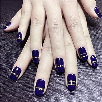24 uñas postizas artificiales con 12 tamaños diferentes, color ...