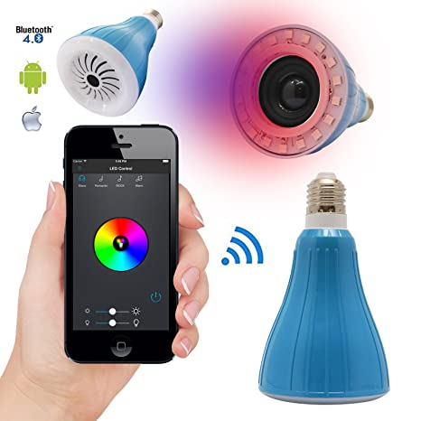 DMG USMART Bluetooth LED Light Bulb Smartphone Controlled Dimmable ...