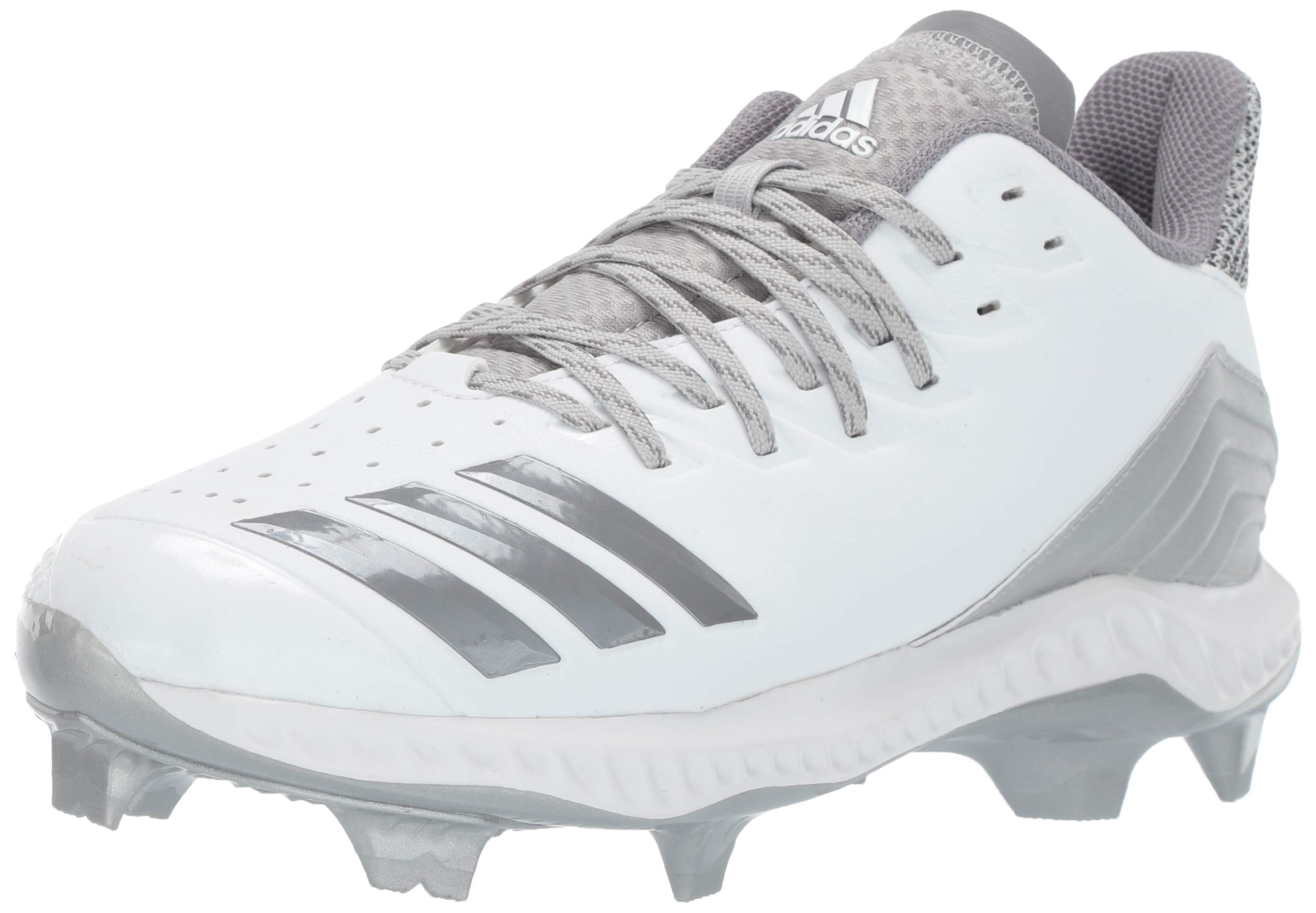 adidas Women's Icon Bounce TPU, White Grey, 7 M US by adidas