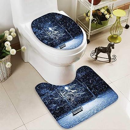 Amazon Com Socomimi Non Slip Bath Shower Rug A Bench