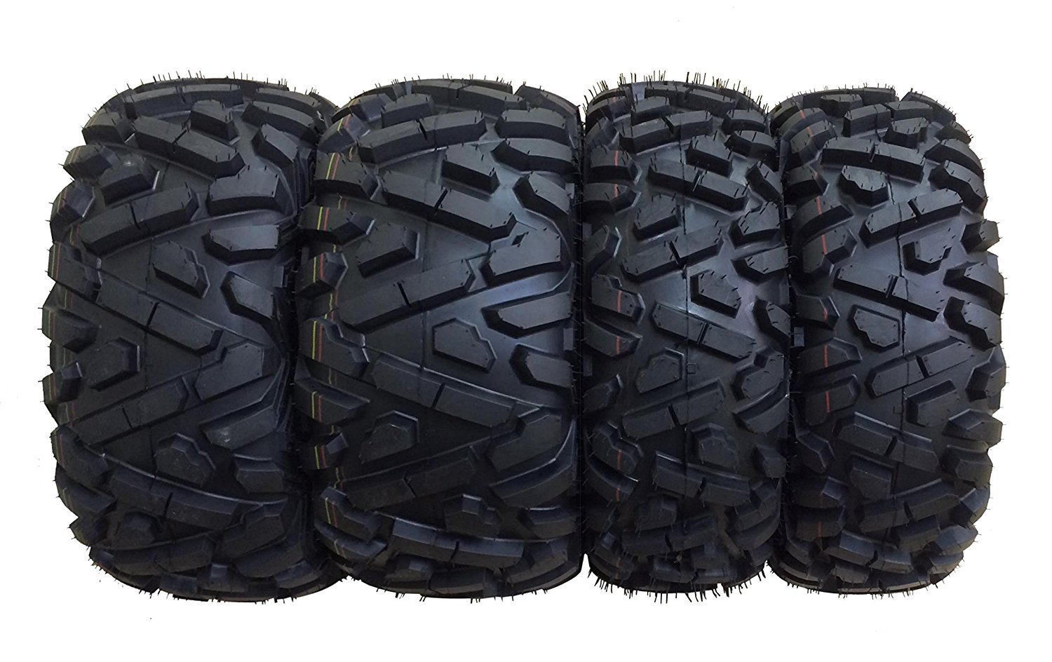 Set of 4 WANDA ATV/UTV Tires 25X8-12 25X10-12 for 2002-2014 POLARIS  SPORTSMAN 400/700