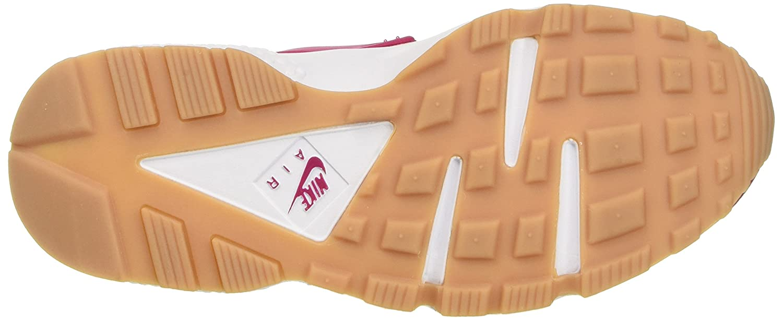 NIKE Damen Air Huarache Fuchsia/Weiß/Gum Run Trainer, Rot (Sport Fuchsia/Weiß/Gum Huarache Yellow) 0aace9