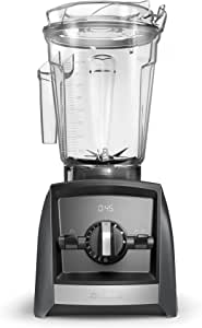 Vitamix A2500 Ascent Series Smart Blender, Professional-Grade, 64 oz. Low-Profile Container, Slate