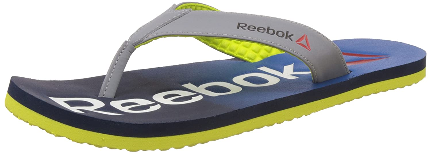 eb059c52fd19a Reebok Men's Embossed Flip Flip-Flops and House Slippers