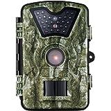 VICTSING Fotocamera da Caccia, Macchine Fotografiche da Caccia 8MP 720P con 24 LED Neri IP66 Impermeabile per Sorveglianza, Caccia, Sicurezza Domestica, ecc.-Camouflage colore