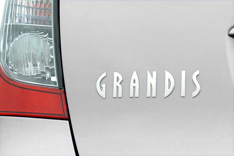 Grandis Placa portón trasero cromado maletero TRASERO 180x45mm Maletero Recambio: Amazon.es: Coche y moto
