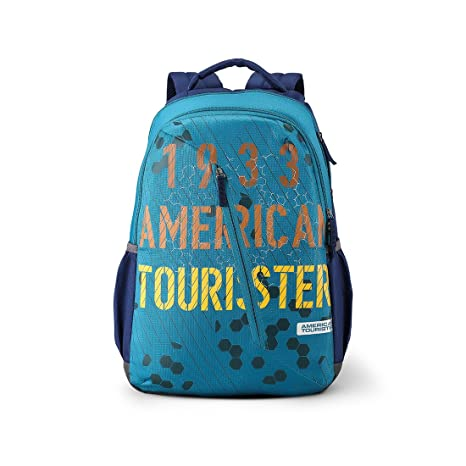 4a0a3718826f86 American Tourister Dune 29 Ltrs Blue Casual Backpack (Fi1 (0) 01 001)