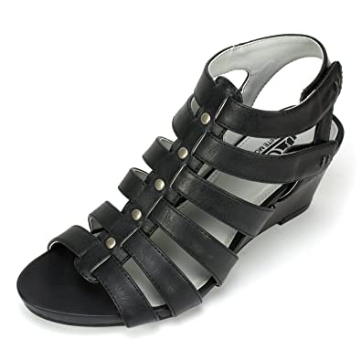 Cliffs by White Mountain Vivaldi Studded Caged Sandal (Women's)