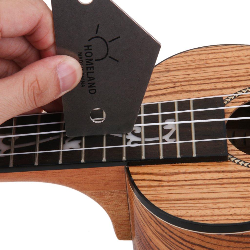 Traste Rockero Herramienta Luthier De Guitarra De Acero Inoxidable: Amazon.es: Instrumentos musicales
