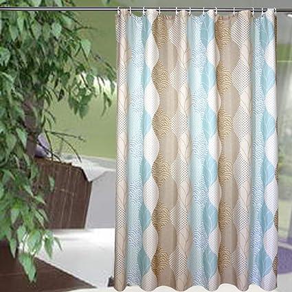 Riverbyland Shower Curtains Leaf 72quot
