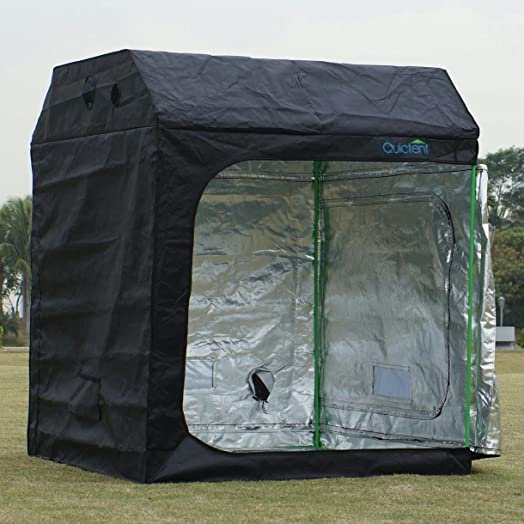 Quictent 150x150x180cm Mylar Hydroponic Grow Tent Dark Room for Indoor Plant Growing : outdoor grow tents - memphite.com