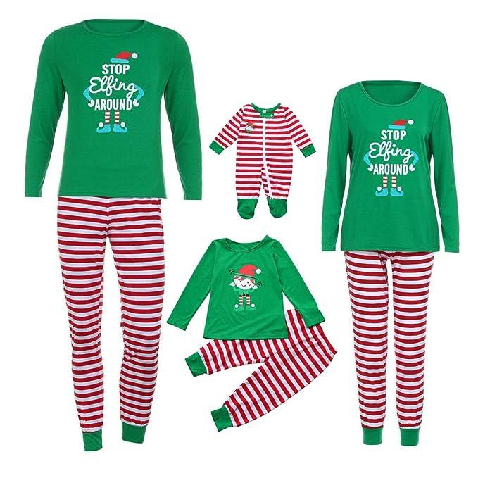 Elf Squad Dress-Up PJs Matching Family Christmas Pyjamas Xmas Mum Dad Children