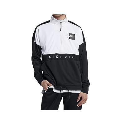 innovative design 5779a 284ac Nike Sportswear Man Jacket in Black and White 918324-100 Fabric   Amazon.co.uk  Clothing
