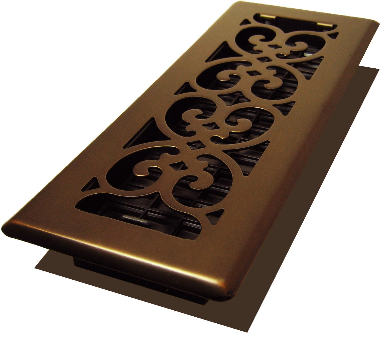 Decor Grates SPH310-RB Scroll Plated Register, 3-Inch by 10-Inch, Rubbed Bronze by Decor Grates