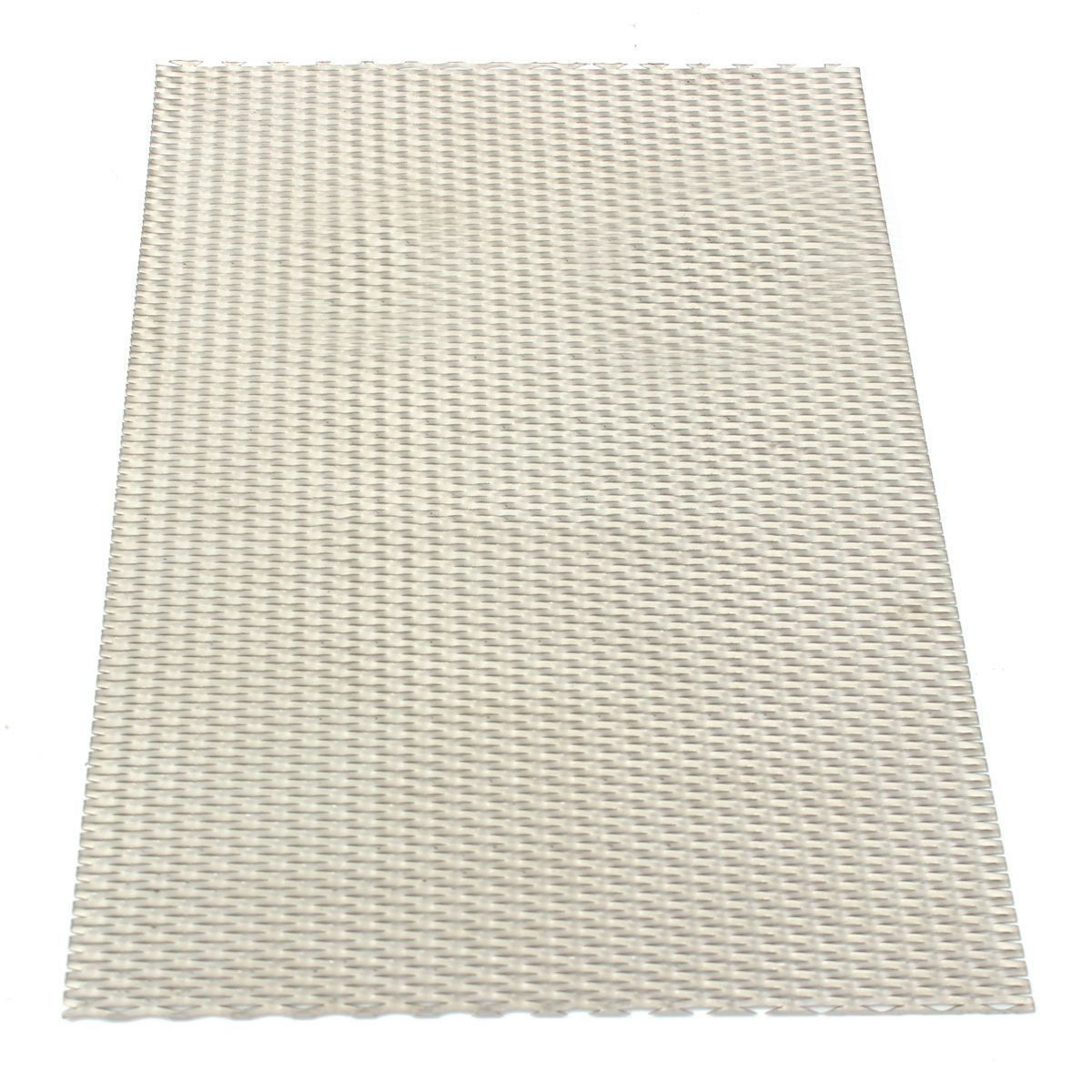 Chipsua 1pc New Titanium Mesh Durable Perforated Plate Expanded Mesh Sheet 200mmx300mmx0.5mm