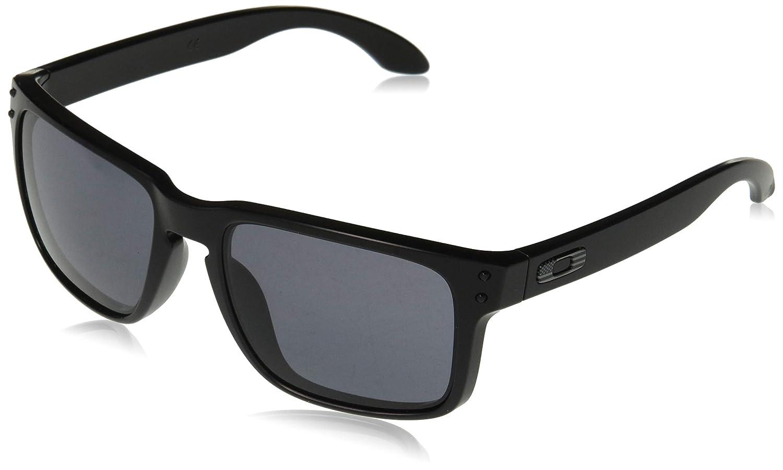 60dd0f7c8db Amazon.com  Oakley Men s Holbrook Square Sunglasses Matte Black 57.0 mm   Clothing