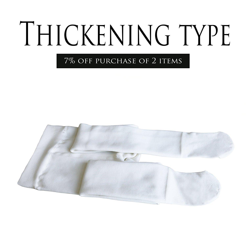 Girls Winter Tights Thick Fleece Lined Strechy Soft Pantyhose School Uniform