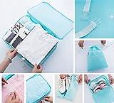 8pcs Set Travel Luggage Organizer Packing Cubes
