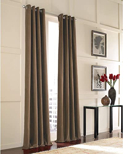 Curtainworks Messina Grommet Cotton Curtain Panel