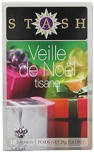 Stash Tea Company, Christmas Eve Herbal, 18 Count