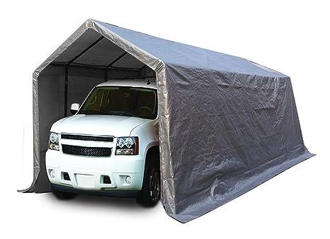 CRAVOG XL impermeable coche funda plegable de almacenamiento cobertizo al aire libre