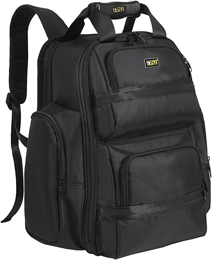 FASITE X518 Tool Laptop Backpack Luggage for Men Women- Fit 16 Inch Laptops Notebook, Black