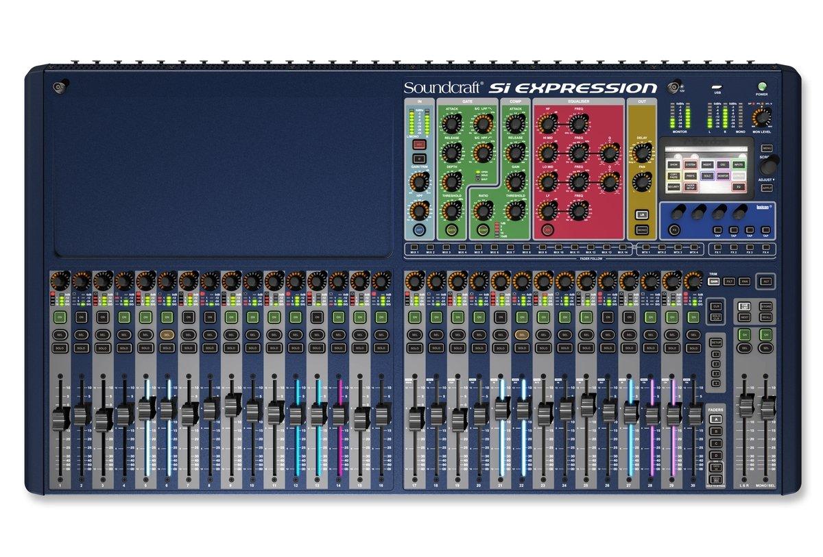 Si Expression 3 32 canales Mesa de mezcla digital: Amazon.es ...